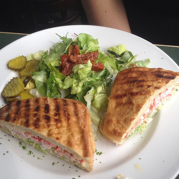 Lobster Panini @ The Lobster Pot