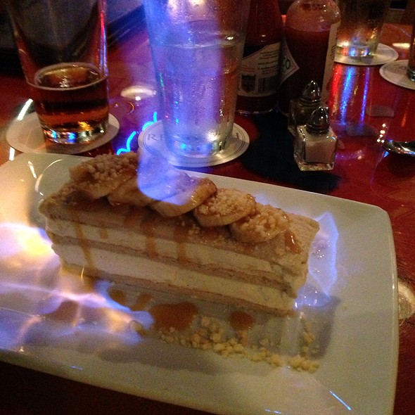 Bananas Foster Ice Cream Sandwich - Red Fish Grill, New Orleans, LA