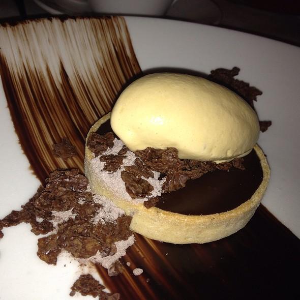 Malted Chocolate Tart
