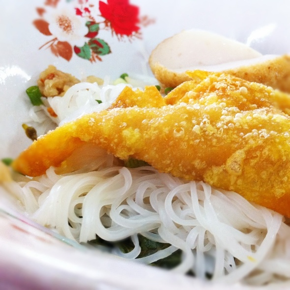 Noodles @ Je Jie Yentafo | เจ๊เจี่ยเย็นตาโฟ