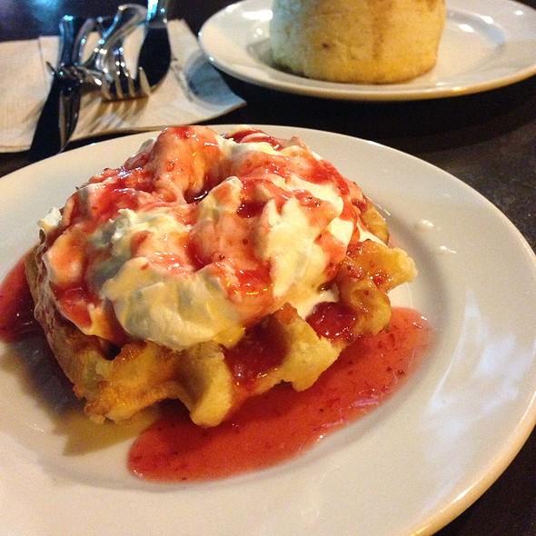 Strawberry Belgian Waffle @ Starbucks