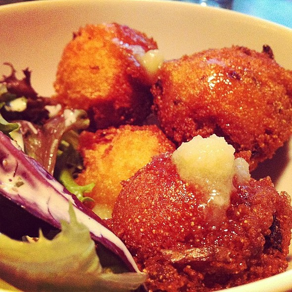 Hush puppies from @verjusparis @ Verjus