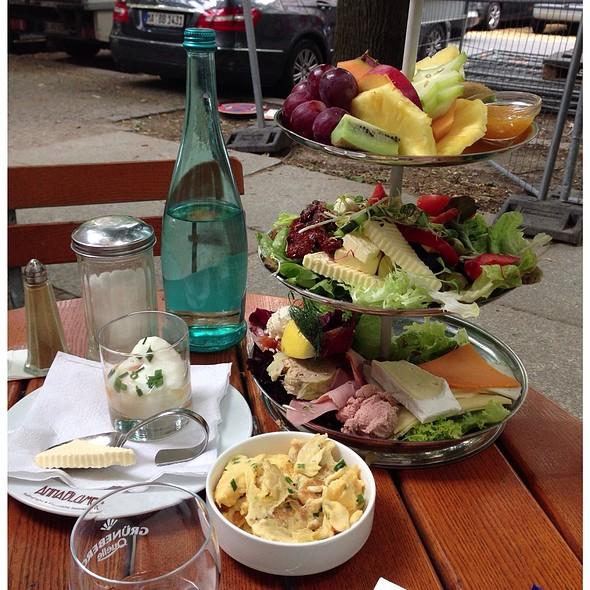 Cafe Anna Blume Menu
