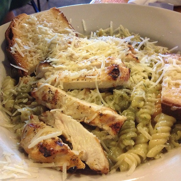 Lemon Pepper Chicken Pasta @ Cafe Brazil