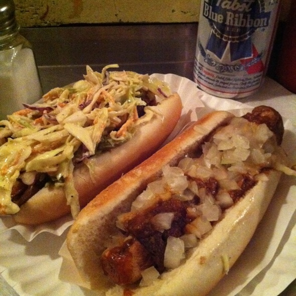 Spicy Redneck & Chili Dog @ Crif Dogs Ent Inc