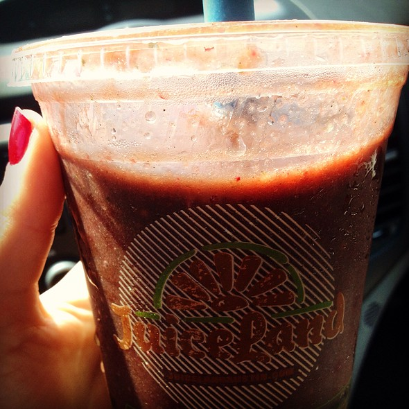 Vegetable Kingdom Smoothie @ JuiceLand