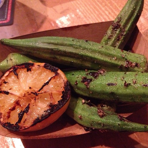 Charred Okra @ Easy Tiger
