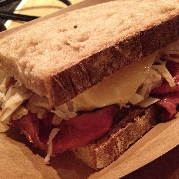 Smoked Pastrami Sandwich @ Easy Tiger
