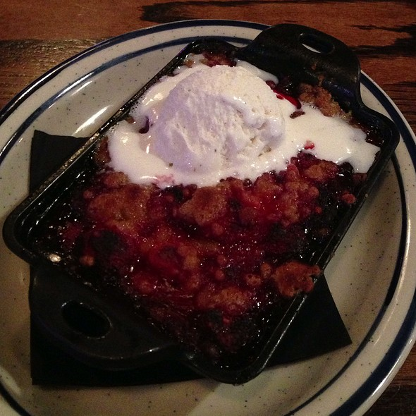Strawberry Crumble - Bub City, Chicago, IL