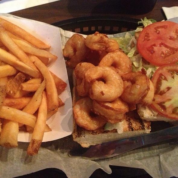 Shrimp Po Boy @ Killer Seafood