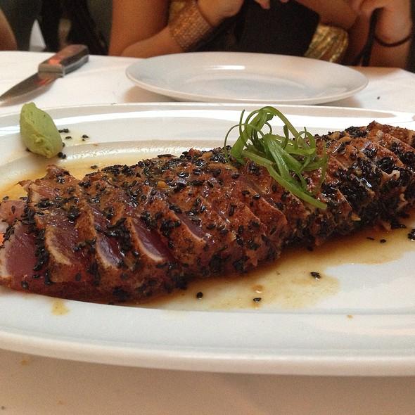 Ahi Tuna Sashimi - Mastro's Ocean Club - Las Vegas, Las Vegas, NV