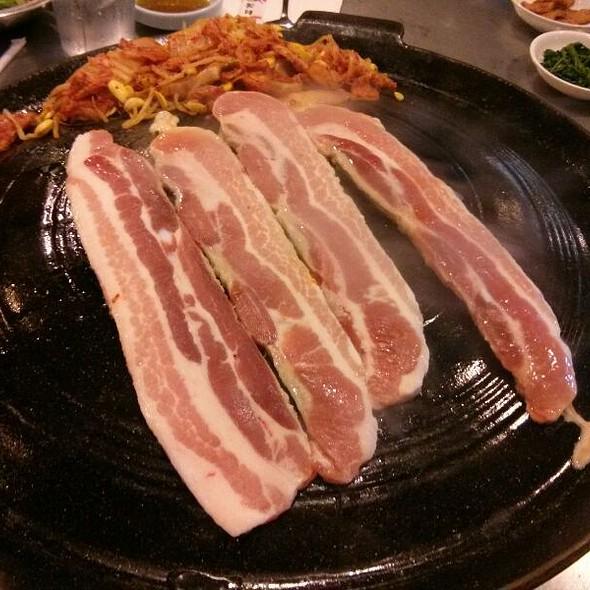 Pork Belly @ Honey Pig Gooldaegee Korean Grill