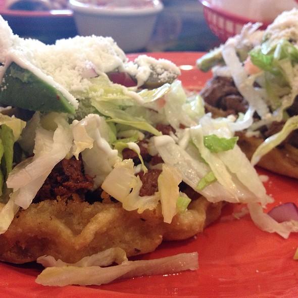 Tacos De Asada & Spicy Pork Sopa  @ La Parada Restaurant