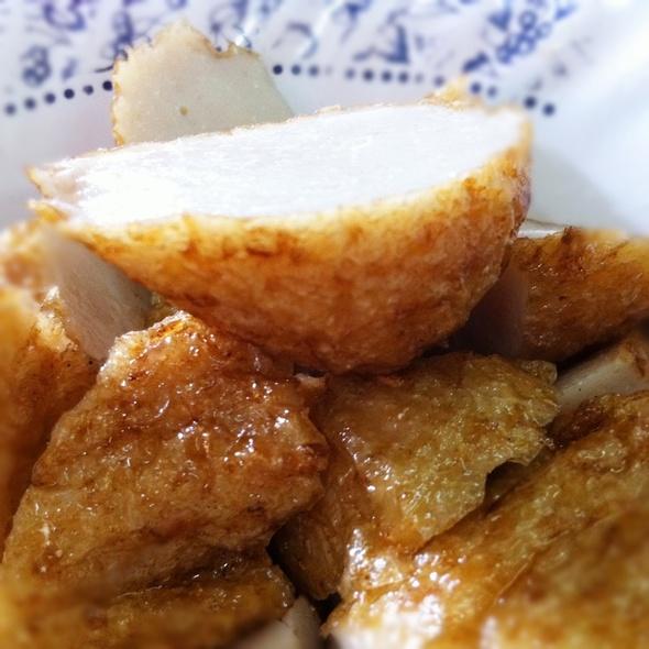 Chinese Fish Cake | ฮื่อก้วย @ Je Jie Yentafo | เจ๊เจี่ยเย็นตาโฟ