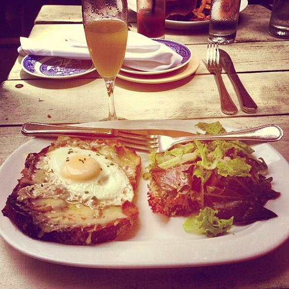 Croque Madame! Devoured. @ Harper's Bar & Restaurant
