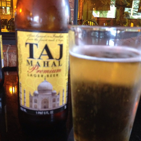 Taj Mahal Beer - Little India Restaurant - Wash Park/DU, Denver, CO