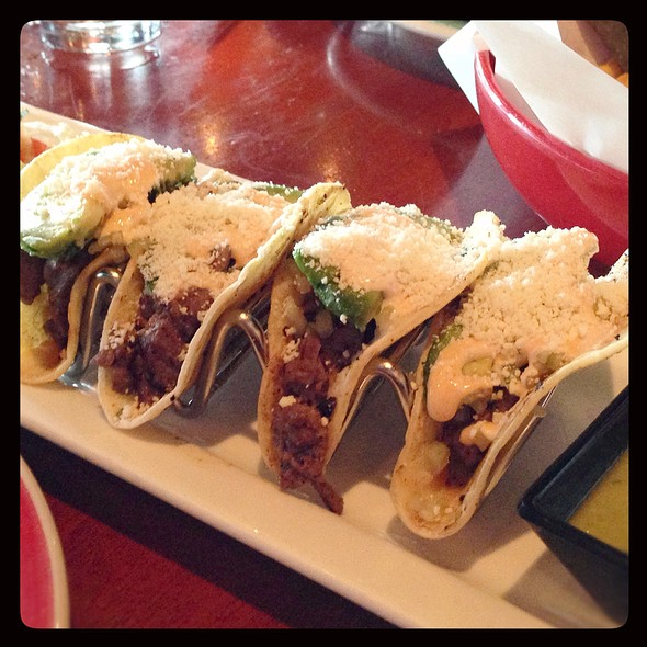 street tacos - Z'Tejas Chandler, Chandler, AZ