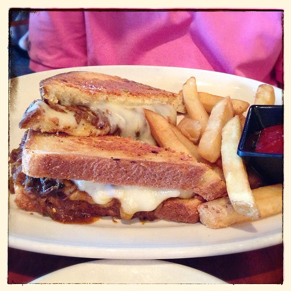 Grown-up Grilled Cheese - Z'Tejas Chandler, Chandler, AZ