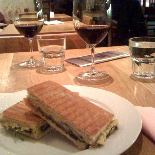 Vegan Panini @ Isabella Food & wine
