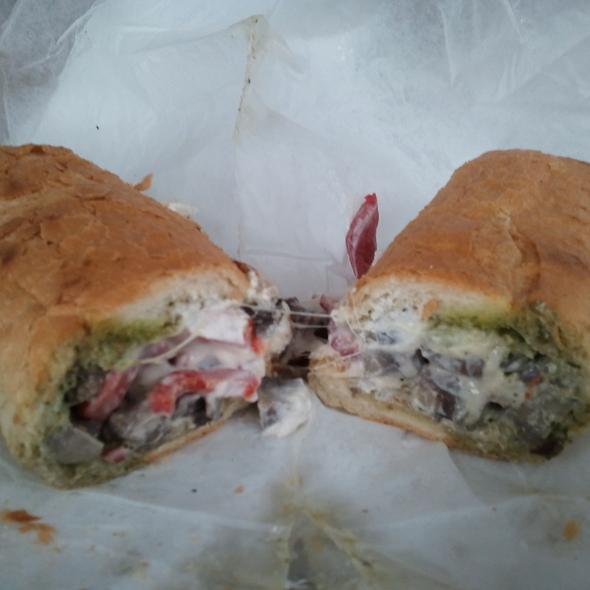 Portobello Sandwich @ Robey Pizza Co