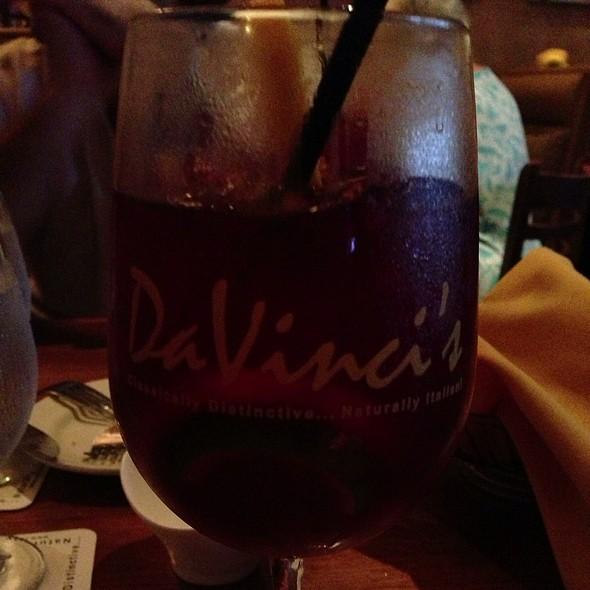 Red Sangria - Da Vinci Ristorante, Marco Island, FL