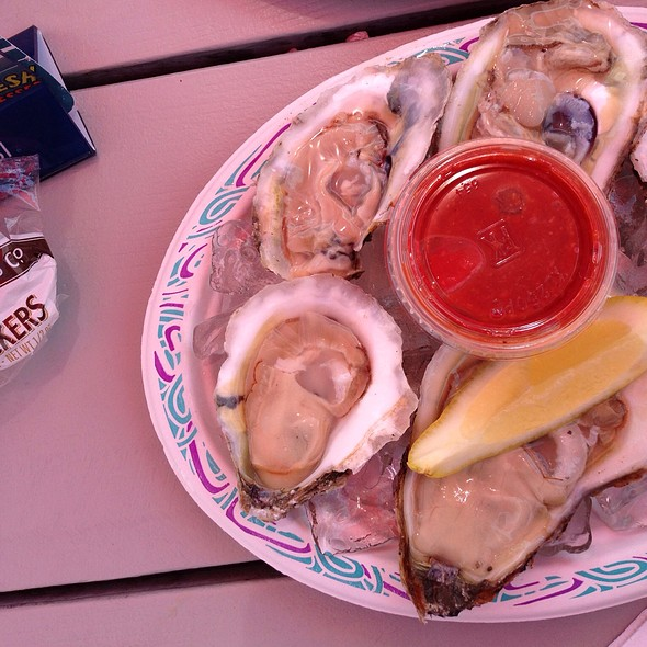 Oysters on the Half Shell @ Bill's Seafood Restaurant