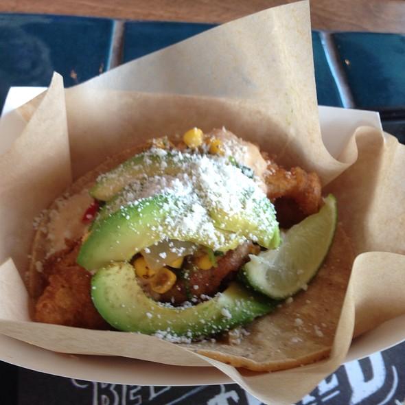 Avocado And Corn Fish Taco