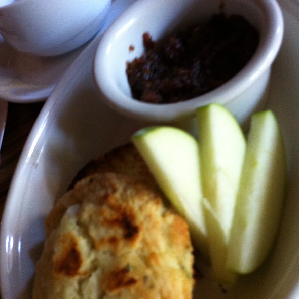 Home Made Biscuit With Hone Made Bacon Jam - Supermarine, Vancouver, BC