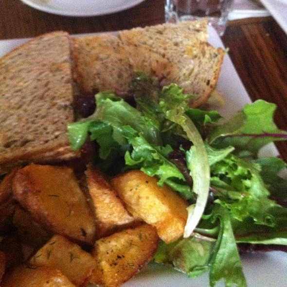Clubhouse Sandwich With Fries - Supermarine, Vancouver, BC