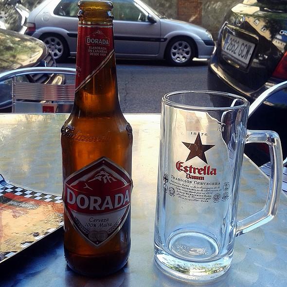 Cerveza Dorada @ Cicero Canary Tapas