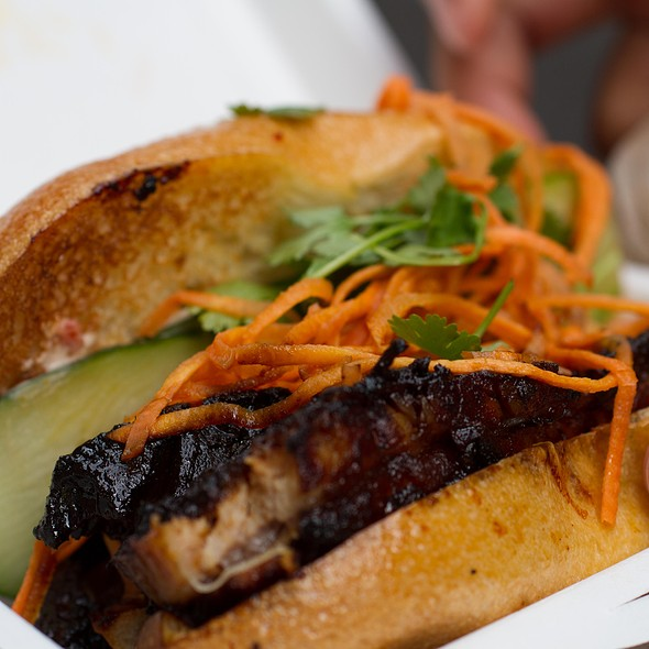 5 spiced pork belly sandwich