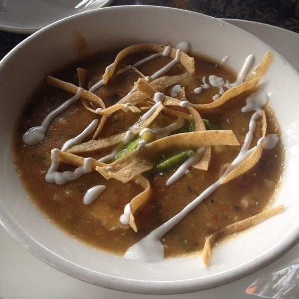 Chicken Tortilla Soup @ Redstone American Grill