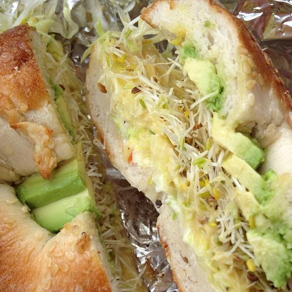 Chia Bagel Sandwich