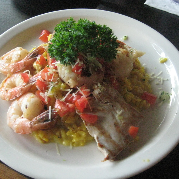 Pacific Island Seafood Risotto @ Cafe Pesto