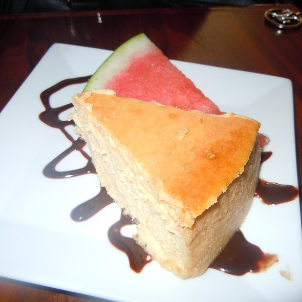Sweet Potato Cheesecake @ Ms. Tootsie's Restaurant Bar Lounge
