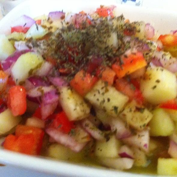 Salad Shirazi (Persian Salad) @ Kabob House