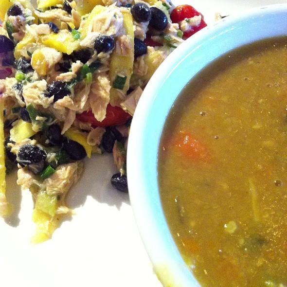 Split Pea Soup, Tuna Salad @ Metro Fresh