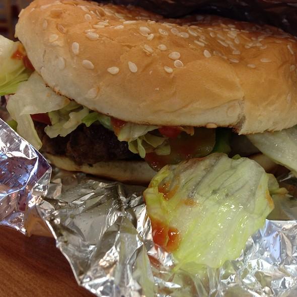 Little Hamburger @ 5 Guys Burger And Fries