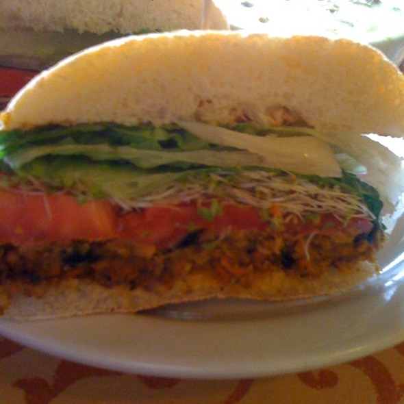 Veggie Burger @ Cherry Street Coffee House