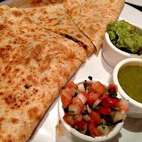 Roasted Vegetable Quesadilla - Casa Sanchez, Los Angeles, CA