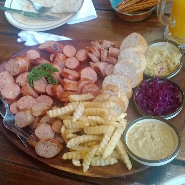 Sausages Platter @ Wursty Wursty