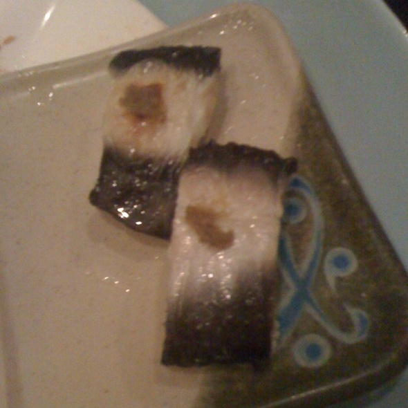 Live Eel @ Tomodachi Sushi