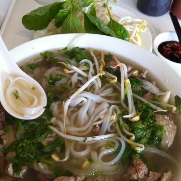 Special Beef Pho @ Saigon Cuisine