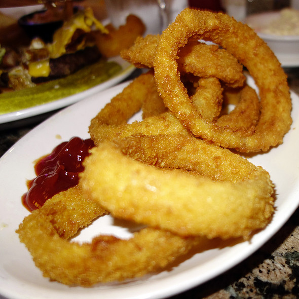 Onion Rings - Fireplace Inn, Chicago, IL