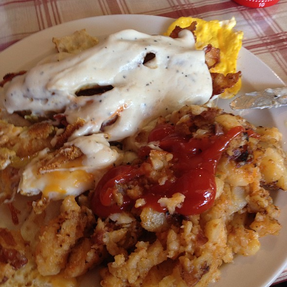Southern Style Breakfast @ The Ugly Rooster Cafe