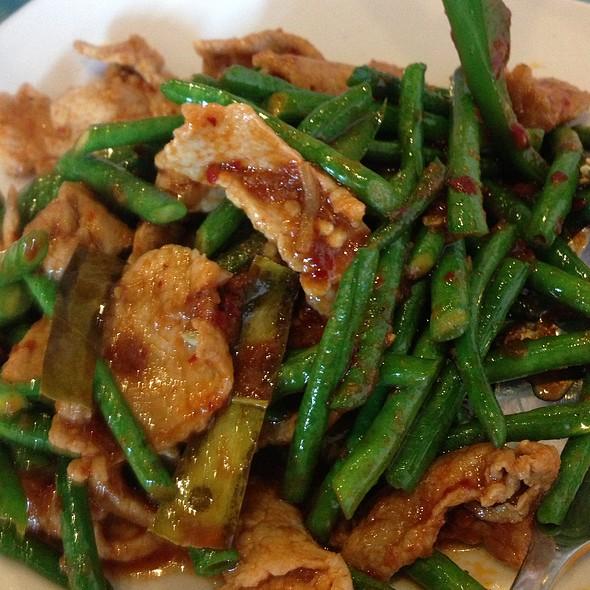 Green Beans W/Pork