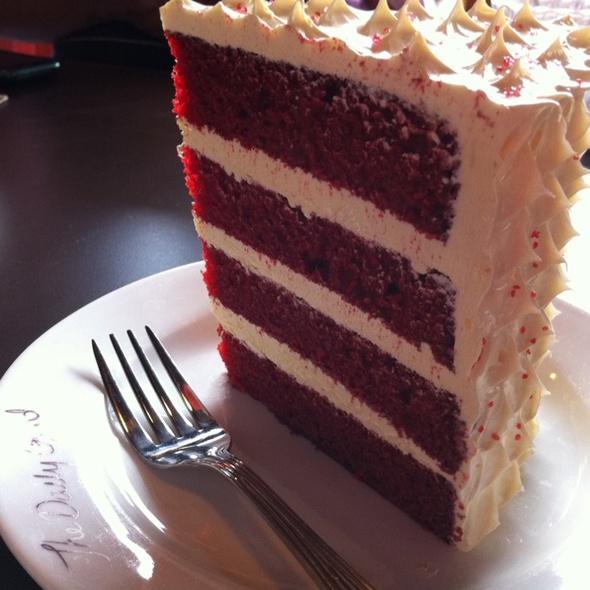 Red Velvet Cake @ The Daily Grind