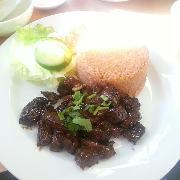 Rump Steaks With Tomato Rice @ Tan Viet Noodle House