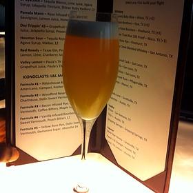 St. Hyacinth Cocktail - Line & Lariat, Houston, TX