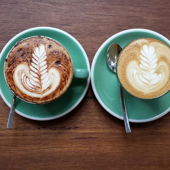Coffee @ a little bird told me... specialty coffee house